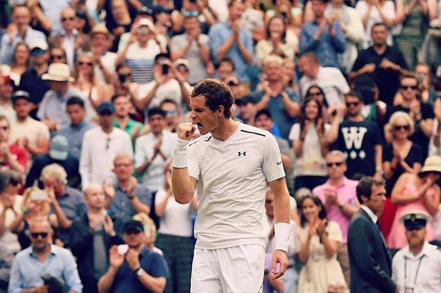 Atual campeão, Andy Murray estreia com vitória em Wimbledon