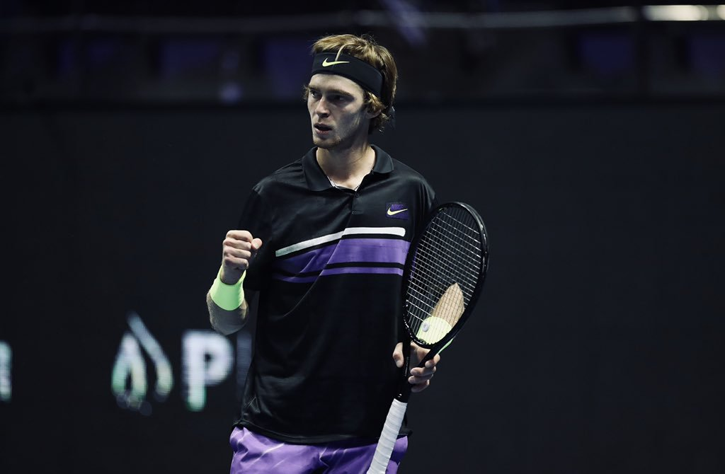 Andrey Rublev Moscou 2019