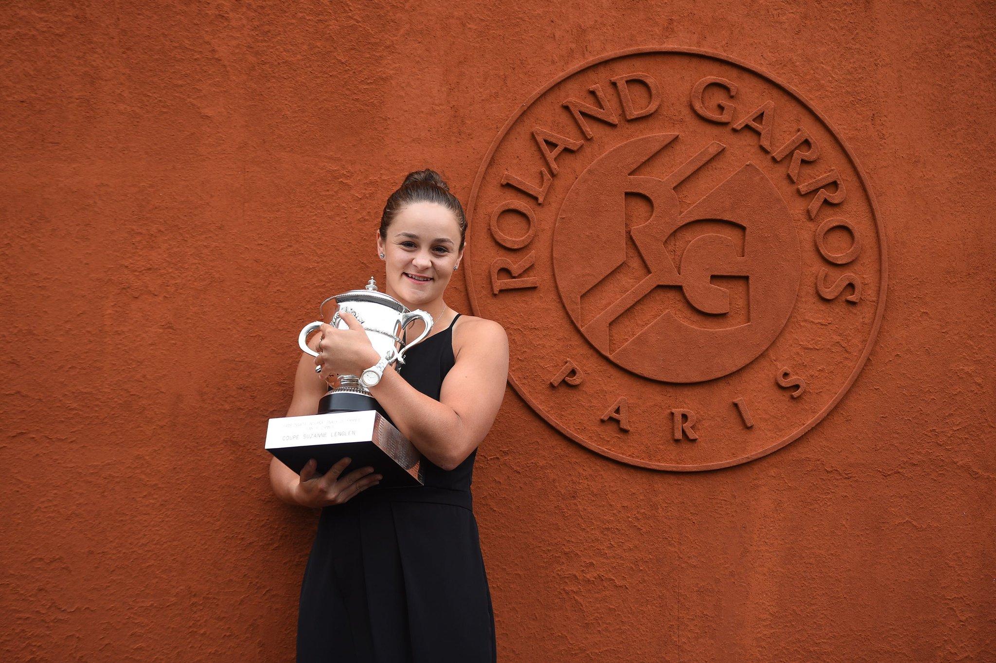 Ashleigh Barty Roland Garros