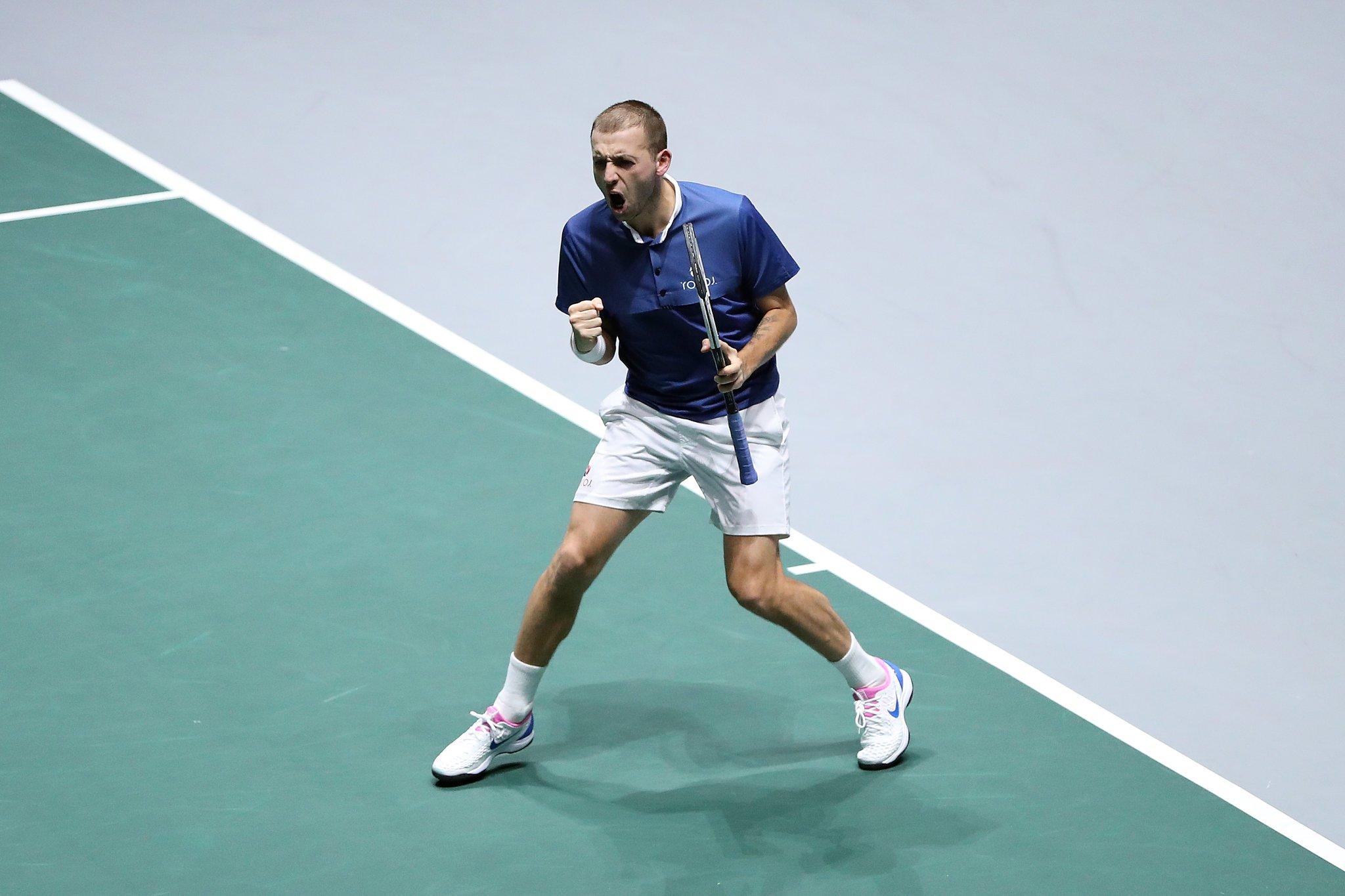Daniel Evans Copa Davis