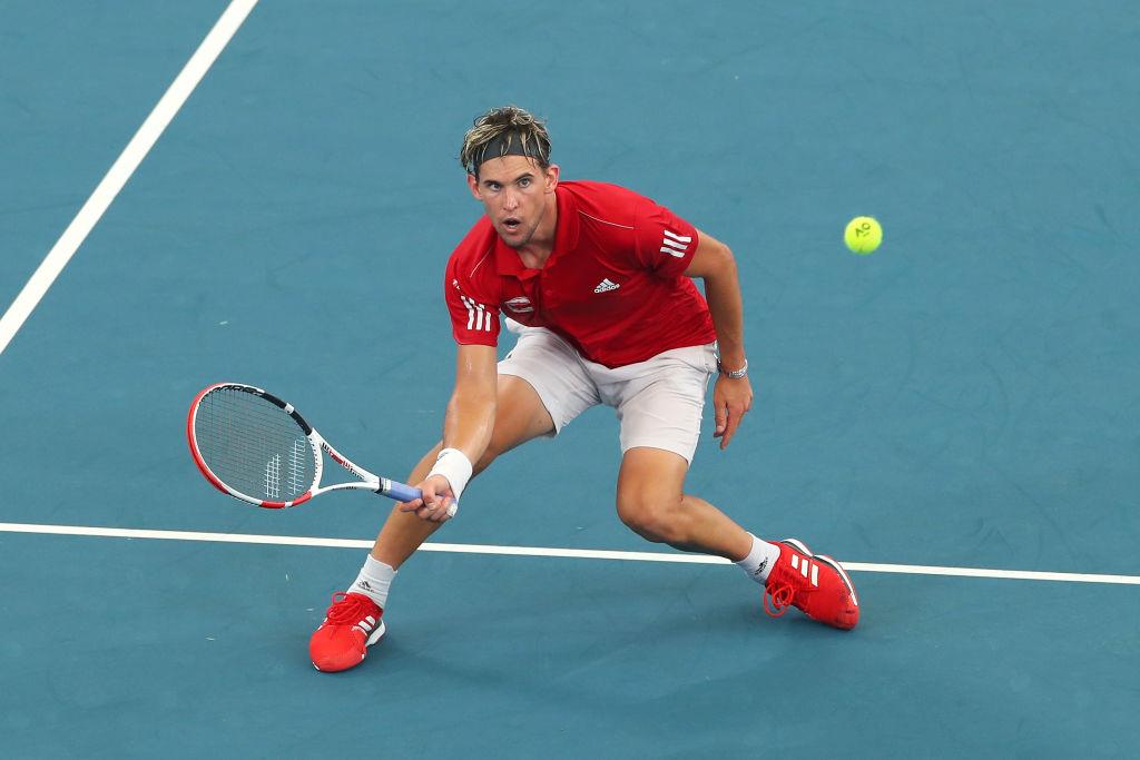 Dominic Thiem ATP Cup