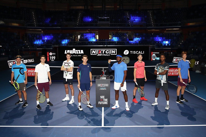 Next Gen ATP Finals atletas
