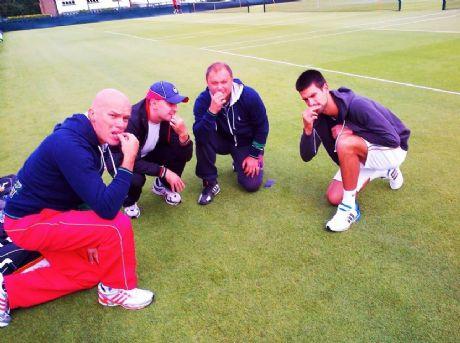 Reprodução/Facebook Novak Djokovic
