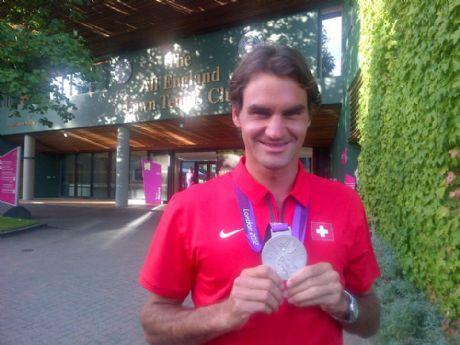 Reprodução/Roger Federer Facebook