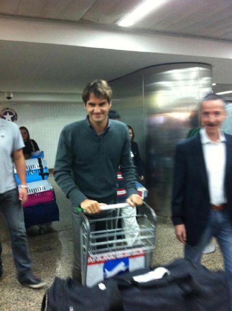 Reprodução/Facebook Team Roger Federer