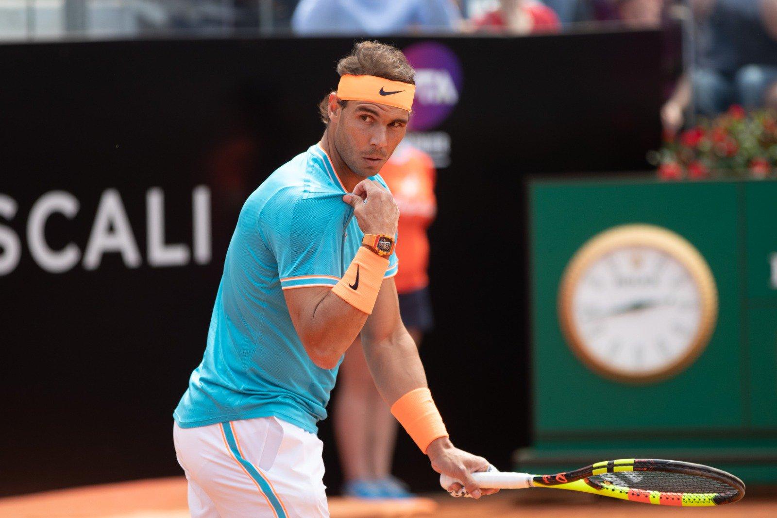 631447c339f2 Programação Roma: Nadal e Djokovic buscam vaga na final neste sábado ...