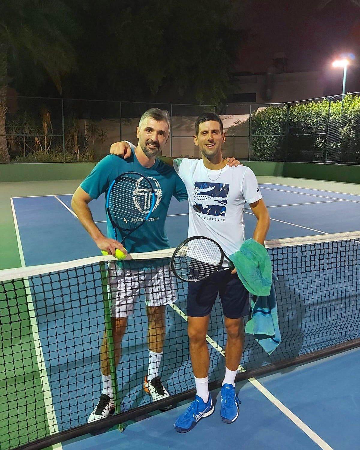 Pré-temporada Novak Djokovic