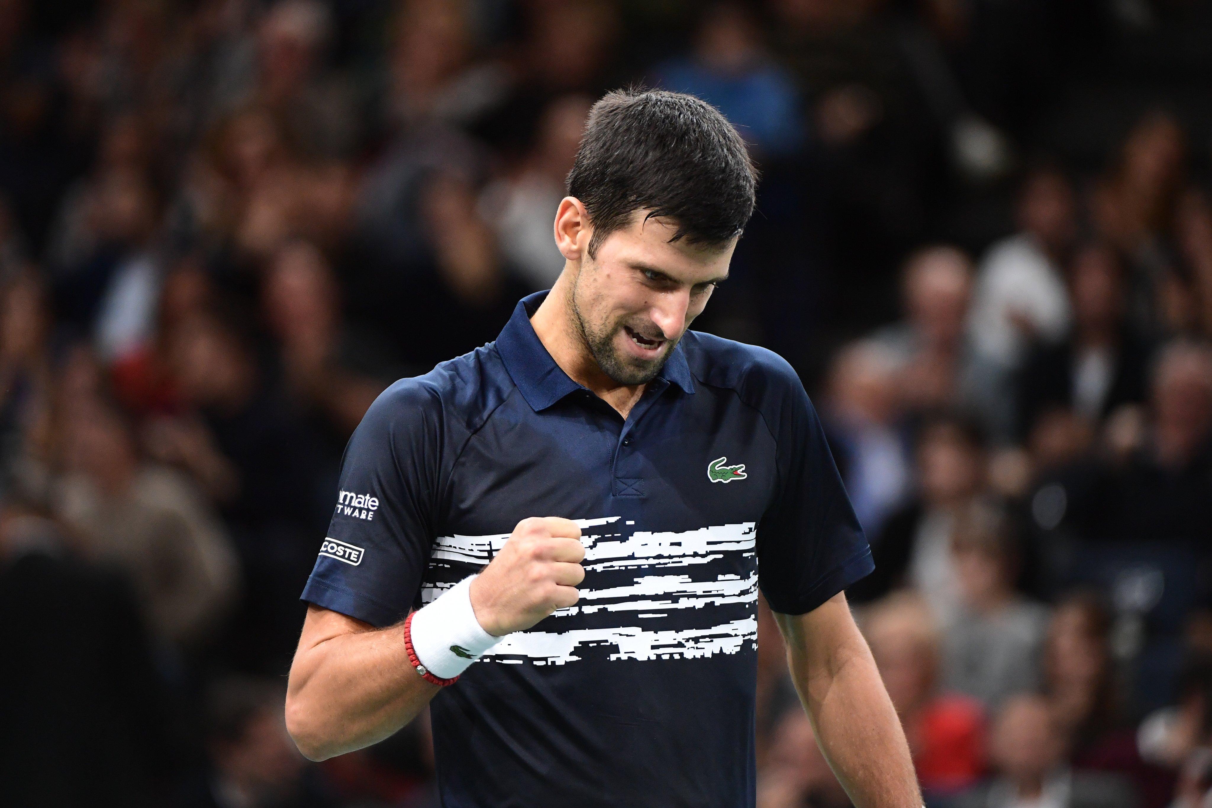 Novak Djokovic Final paris