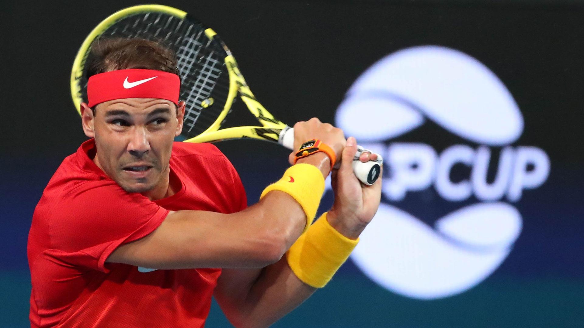Rafael Nadal ATP Cup