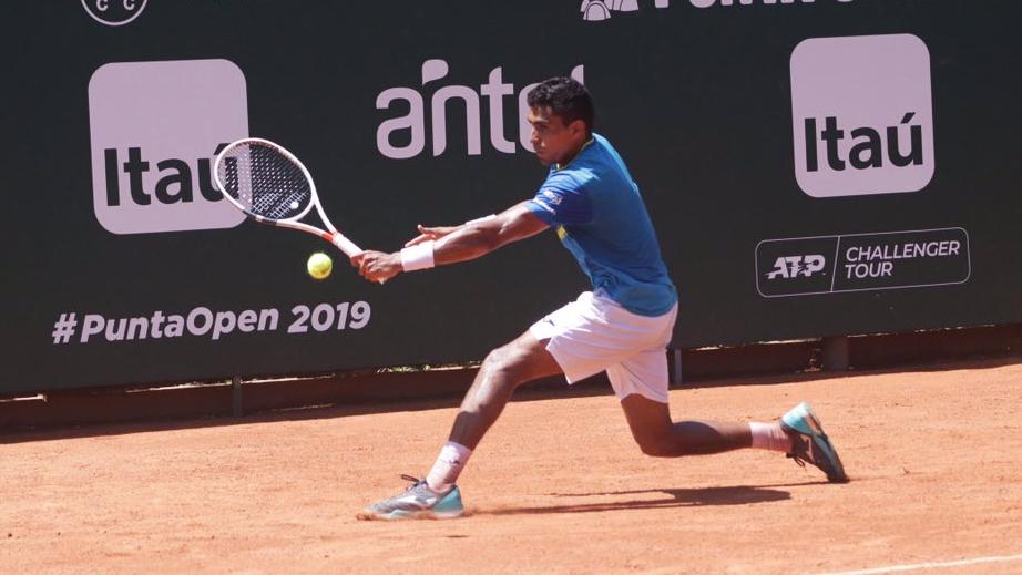 52f6348f1fe Monteiro cai para jovem espanhol e é eliminado nas quartas no Challenger de  Marbella