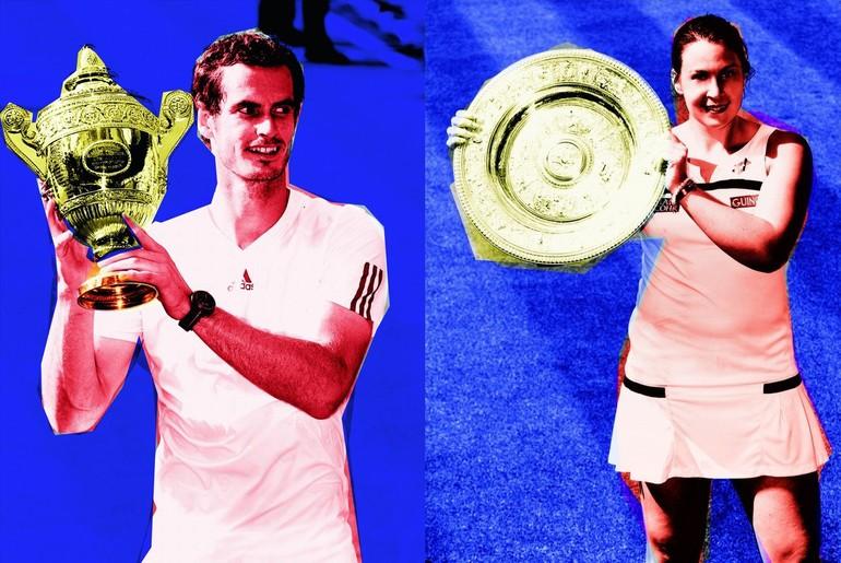 Andy Murray e Marion Bartoli