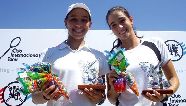 Flávia Araújo e Marina Danzini: nível técnico similar, porém trajetórias diferentes