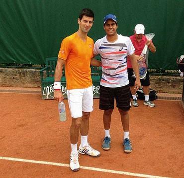 Marcelo Zorman e Novack Djokovic