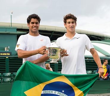 Marcelo Zormann e Orlando Luz
