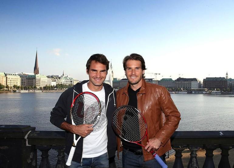 Haas e Federer