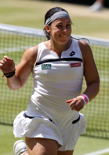 Bartoli foi chamada de feia em Wimbledon