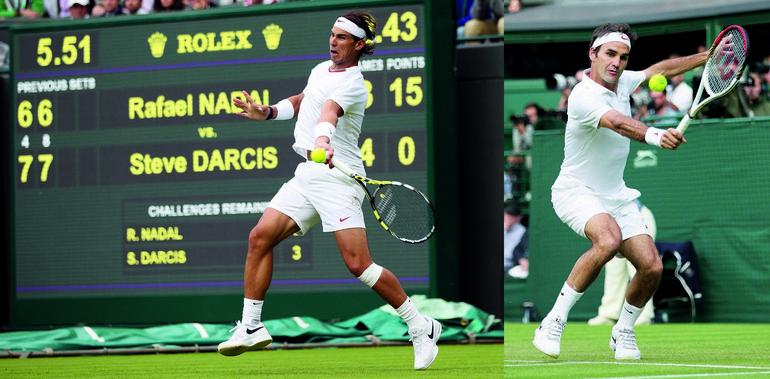 Rafael Nadar Roger Federer