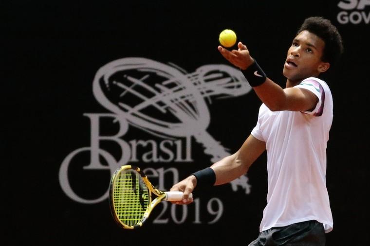 e2d26a4cf17 Programação Brasil Open  Auger-Aliassime duela contra Ramos-Vinolas em busca  das quartas