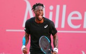 Insano, Monfils dispara - de costas - o ponto do ano no Masters de Madri; assista