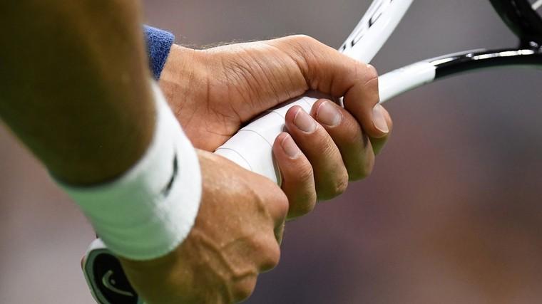 Punho de Novak Djokovic