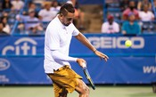 Kyrgios dá show contra americano na estreia do ATP de Washington; assista as jogadas