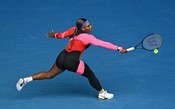 Serena Williams atropela na estreia do Australian Open