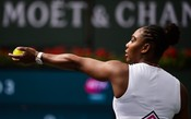 Serena Williams oscila, mas supera sueca no terceiro set e avança no Miami Open