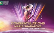 Maria Sharapova se classifica para seu 7º WTA Finals