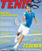 Capa Revista Revista Tênis 103 - Federer confirma que vem ao Brasil