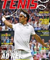 Capa Revista Revista TÊNIS 106 - Reverência ao Rei de Wimbledon