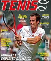 Capa Revista Revista Tênis 107 - Ouro olímpico de Murray