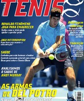 Capa Revista Revista TÊNIS 109 - Arma mortal de Del Potro
