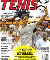 Capa Revista Revista TÊNIS 110 - Nove top 10 no Brasil