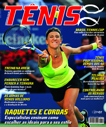 Revista TÊNIS 114 · Abril 2013 · Tênis feminino 6ad12c764809e