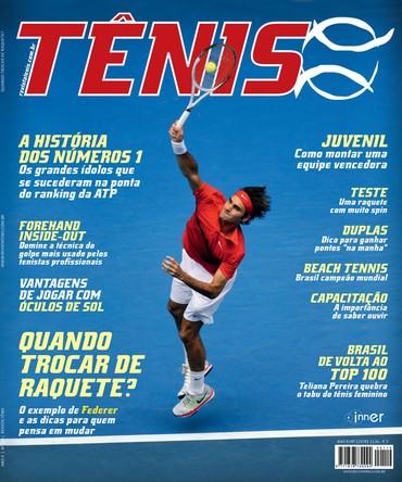 Revista TÊNIS 119 · Agosto 2013 · A história dos números 1 45e586fbc8