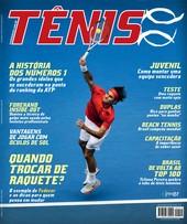 Capa Revista Revista TÊNIS 119 - A história dos números 1