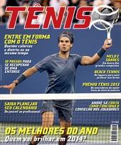 Capa Revista Revista TÊNIS 123 - Os melhores do ano