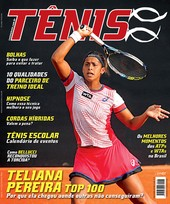 Capa Revista Revista TÊNIS 125 - Teliana Pereira Top 100