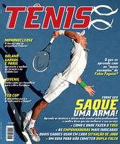 Capa Revista Revista Tênis 127 - Torne seu SAQUE uma arma!