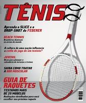 Capa Revista Revista TÊNIS 128 - Guia de Raquetes