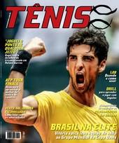 Capa Revista Revista Tênis 132 - Brasil na Elite