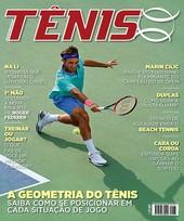 Capa Revista Revista TÊNIS 133 - A geometria do Tênis
