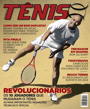 Revista TÊNIS 134 · Novembro 2014 · Revolucionários 5ea20f8256186