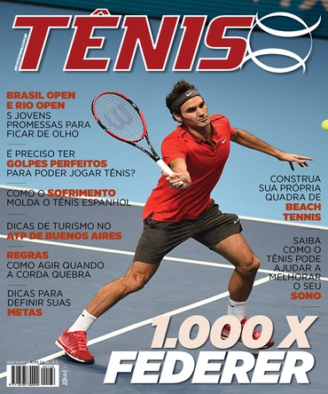 Revista TÊNIS 136 · Janeiro 2015 · 1.000 x Federer 04b2d8c8f6b3b