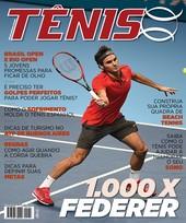 Capa Revista Revista Tênis 136 - 1.000 x Federer