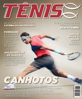 Capa Revista Revista TÊNIS 137 - Canhotos