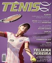 Capa Revista Revista TÊNIS 140 - Teliana Pereira