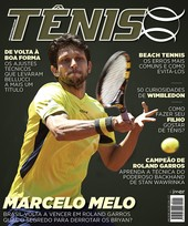 Capa Revista Revista Tênis 141 - Marcelo Melo