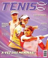 Capa Revista Revista TÊNIS 142 - A vez das meninas!