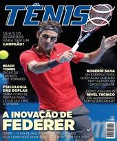 Capa Revista Revista TÊNIS 144 - A inovação de Federer